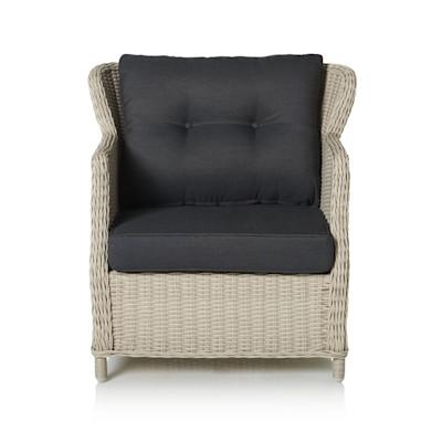 IMPRESSIONEN living Outdoor-Sessel, inkl. Auflagen, klassisch, Kunststoffrattan