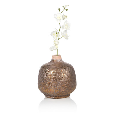 IMPRESSIONEN living Vase, Handarbeit, wasserdicht, rustikal, Keramik, in 2 Größen