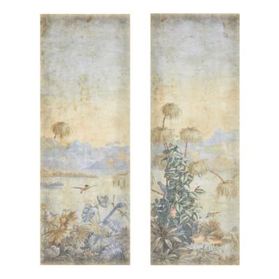 IMPRESSIONEN living Tapeten-Set, 2-tlg 180x250 cm, Dschungel