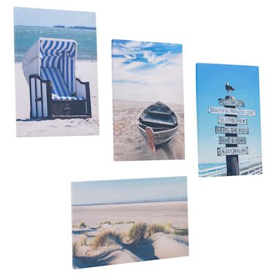 miaVILLA Bilder-Set, 4-tlg. Beach