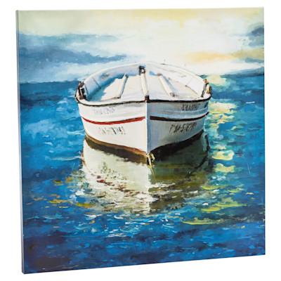 miaVILLA Bild Boat, Handgemalt