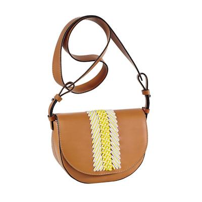 Gianni Chiarini Tasche, Saddle Bag, Stickerei, Boho-Style