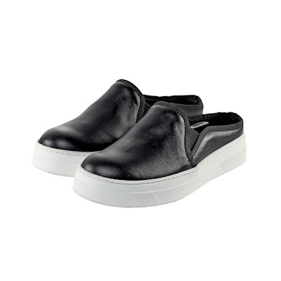 ONE OF A KIND Slipper, weiße Sohle, Monochrome, Casual