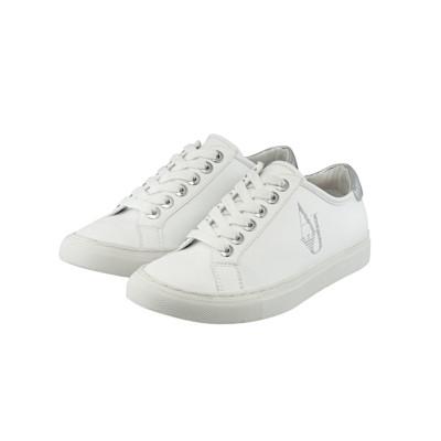 ARMANI JEANS Sneaker, Metallic-Detail, Logoprint, Casual