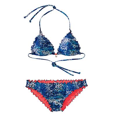 CHIEMSEE Bikini, gepolsterte Triangel-Cups, Neckholder, Wellensaum