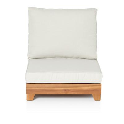 IMPRESSIONEN living Outdoor-Sessel, modern, Akazienholz, Polyester