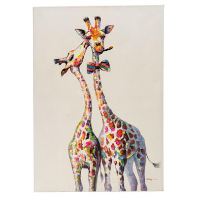 miaVILLA Bild Giraffenpaar