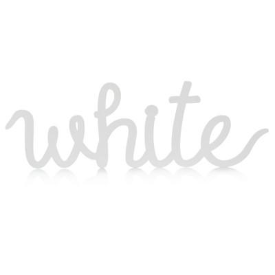 """IMPRESSIONEN living """"Schriftzug """"""""White"""""""", rückseitige Aufhängung, Romantik-Look, groß"""""""