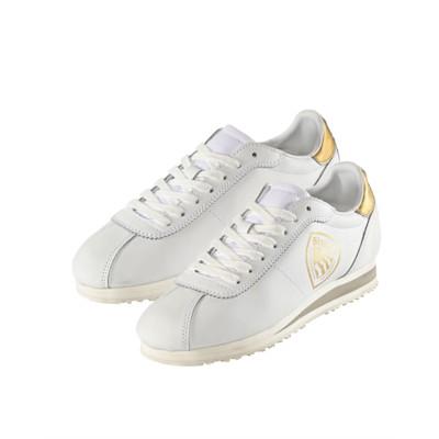 Blauer Sneaker, Casual