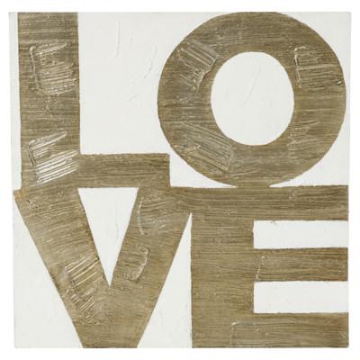 miaVILLA Bild Love, edel, Romantik-Look
