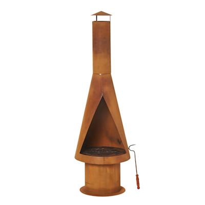 miaVILLA Feuerstelle Rusty