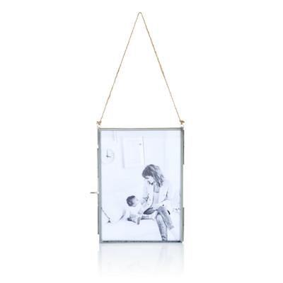 Glasbilderrahmen, mit Tür, klassisch