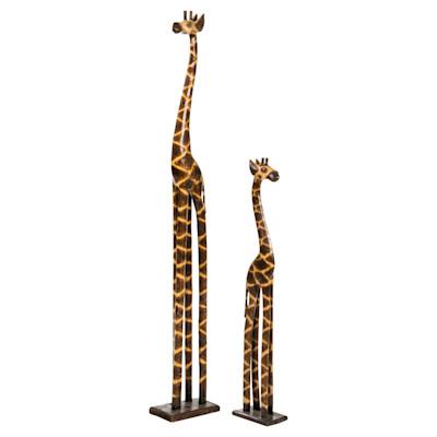 miaVILLA Dekofigur Giraffe