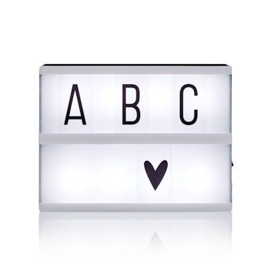A Little Lovely Company Lightbox-Set,86-tlg