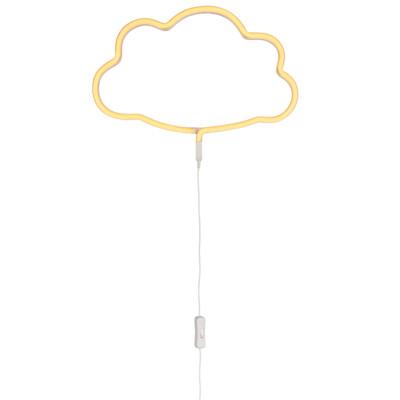 A Little Lovely Company LED-Wandleuchte Cloud, Kunststoff