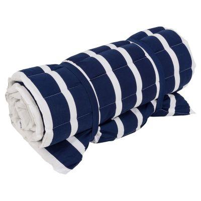 miaVILLA  Strandmatte Stripes Dunkelblau