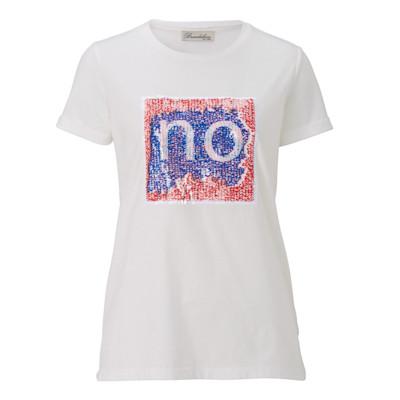 Brandalism T-Shirt, veränderbare Pailletten, Boho-Style