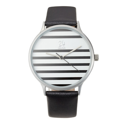 24seven Armbanduhr, Streifen, Maritimer Look