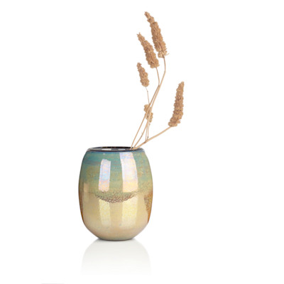 DutZ Vase, Farbverlauf, Handarbeit, edel, Glaswaren