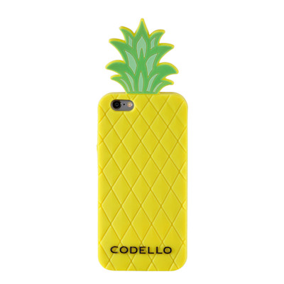 CODELLO Smartphonehülle, iPhone 6, Ananas