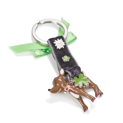 GIFTCOMPANY Schlüsselanhänger, Glücksbringer, Alpen-Look, emailliert