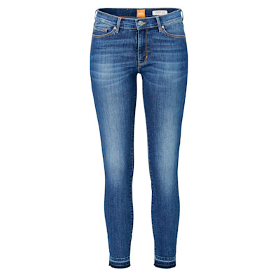 BOSS Orange Jeans Orange J10 Atlanta, 7/8-Länge, offener Saum, Skinny