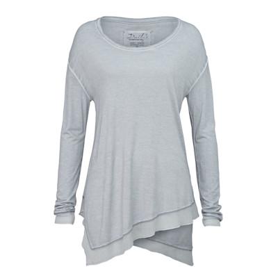 Dailys Shirt, Lagen-Optik, 2in1, leger geschnitten, Used-Look