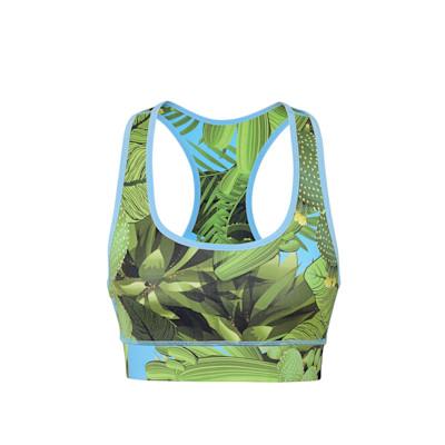 Hey Honey Top, Print, Kaktus Print, eng anliegend, sportlich