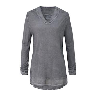 Dailys Shirt, Used Waschung, leger geschnitten, Vintage-Look