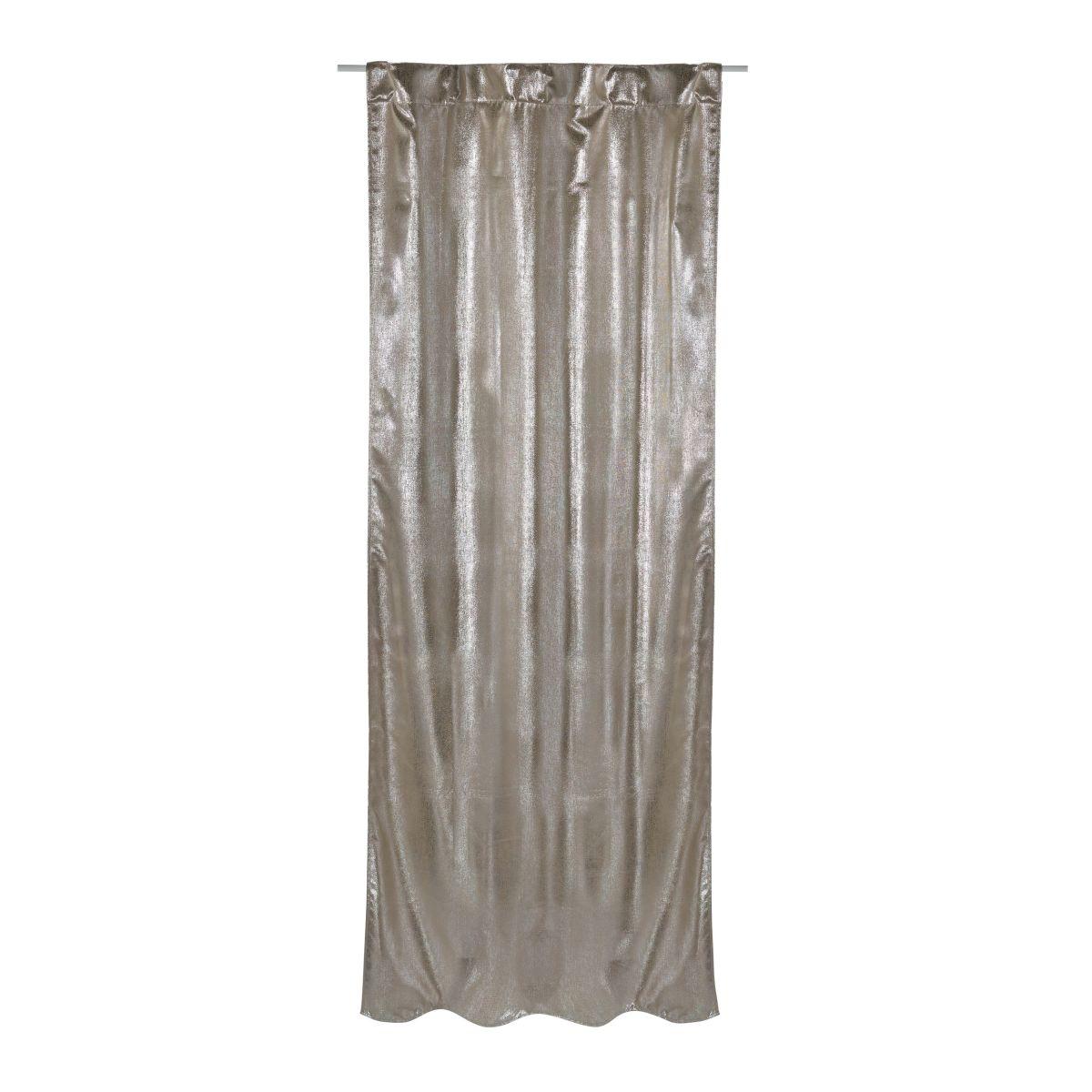 Vorhang Shiny, schimmernde Oberfläche, Schlaufen