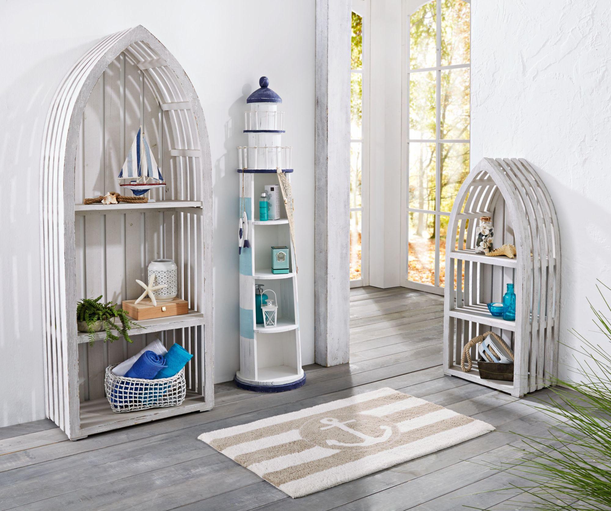 point home cd schrank retrolook leuchtturm 125 cm licht. Black Bedroom Furniture Sets. Home Design Ideas