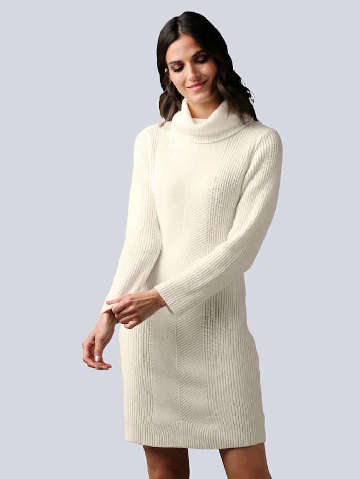 alba moda - Strickkleid  Off-white