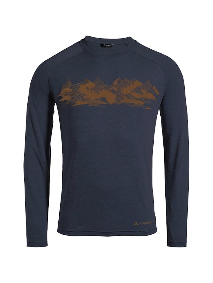 vaude -  Shirt Gleann LS II  Dunkelblau