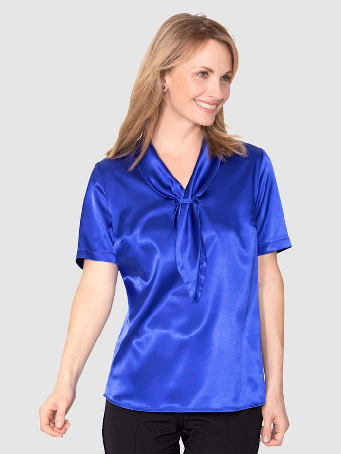 Mona Blouse  Royal blue