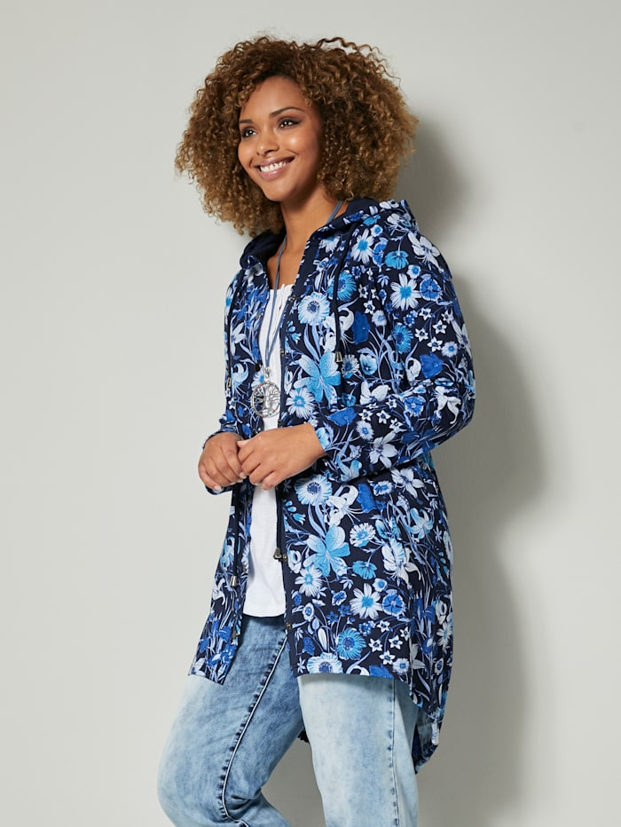 angel of style - Sweatjacke  marineblau-blau