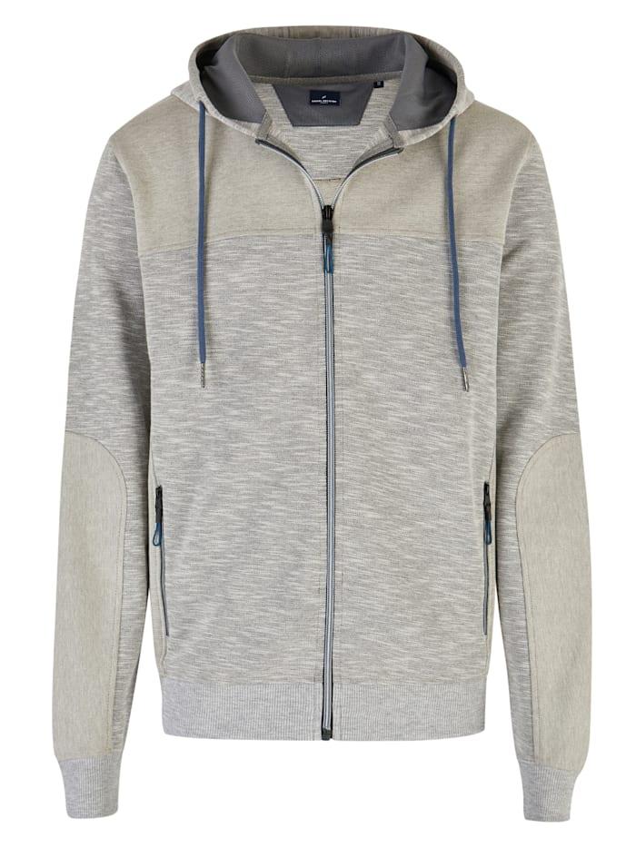 daniel hechter - Sportliche Reißverschlussjacke  grey