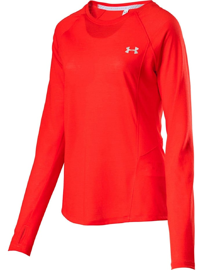 under armour -  Shirt UA STREAKER LONGSLEEVE  Orange