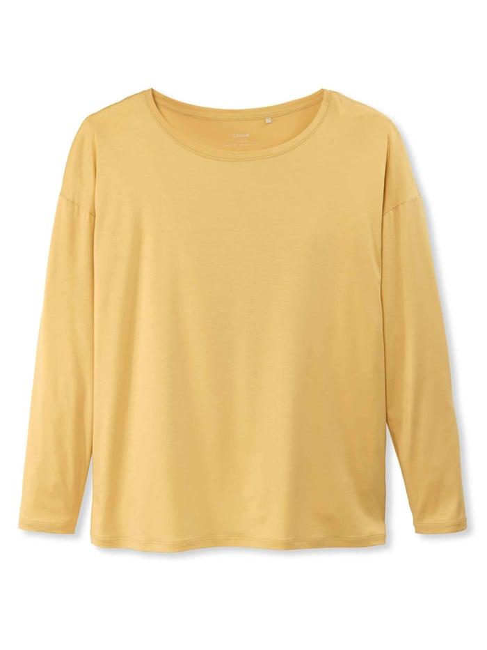 calida - Langarm-Shirt  sunny yellow