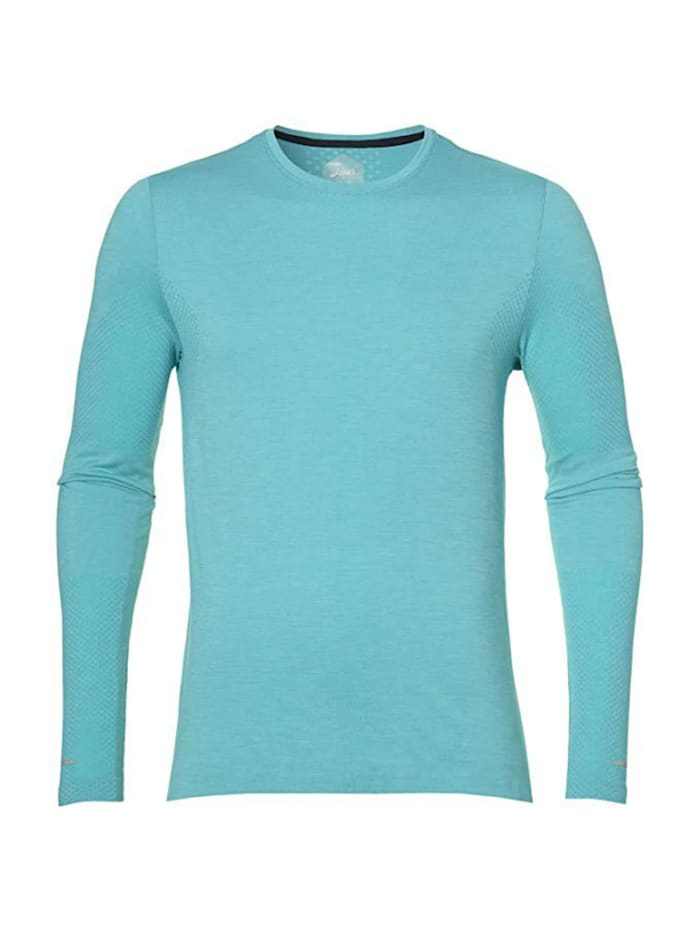 asics -  Shirt SEAMLESS LS 1274 LAKE BLUE H  Hellblau