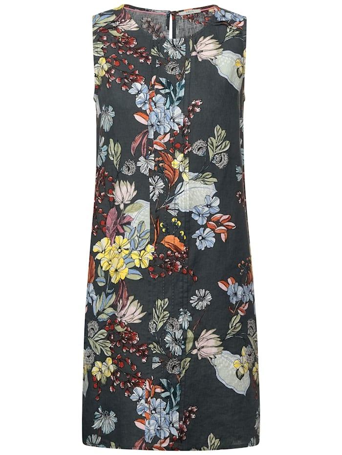 cecil - Kleid mit Blumenprint  slate green