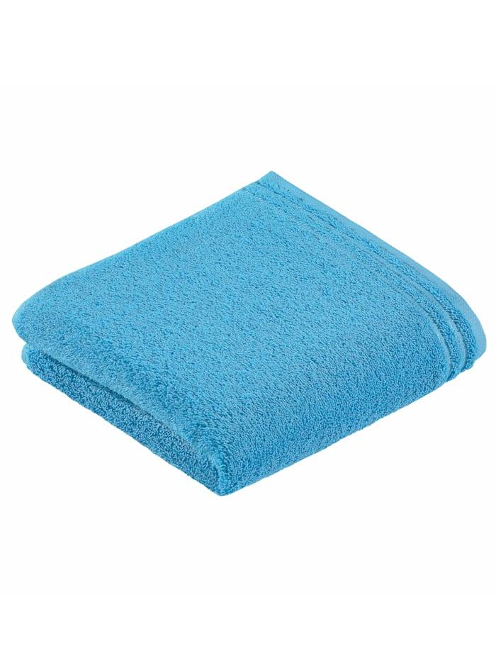 Handdoekenset effen Vossen turquoise