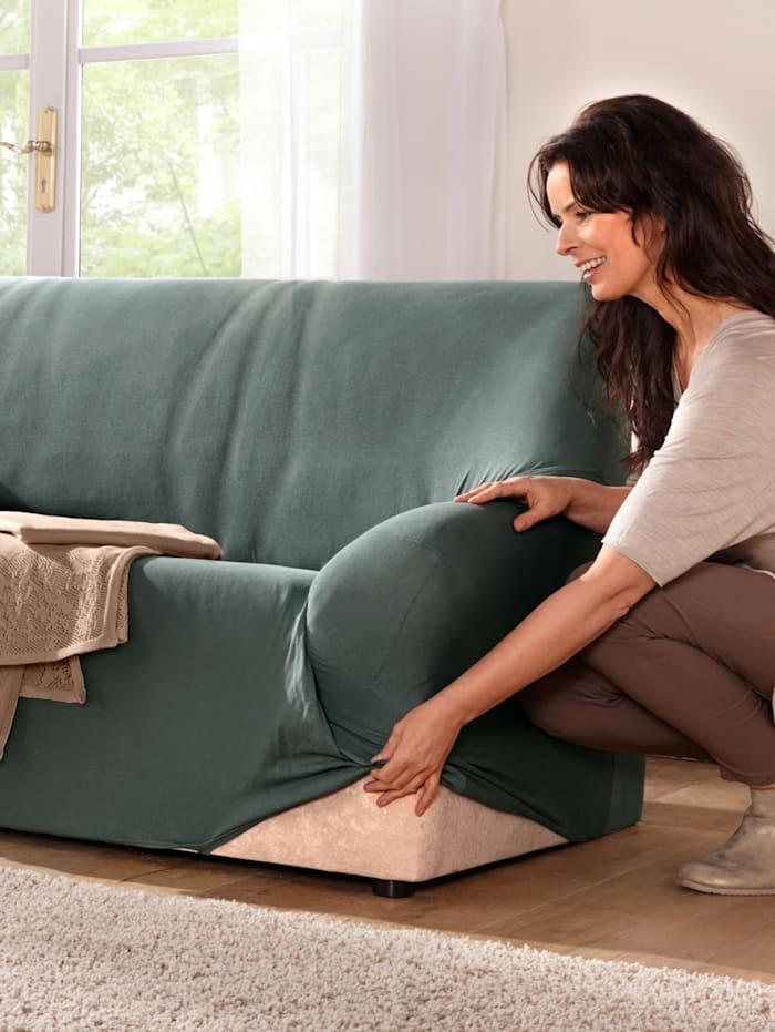 Elastische meubelhoezen Webschatz petrol