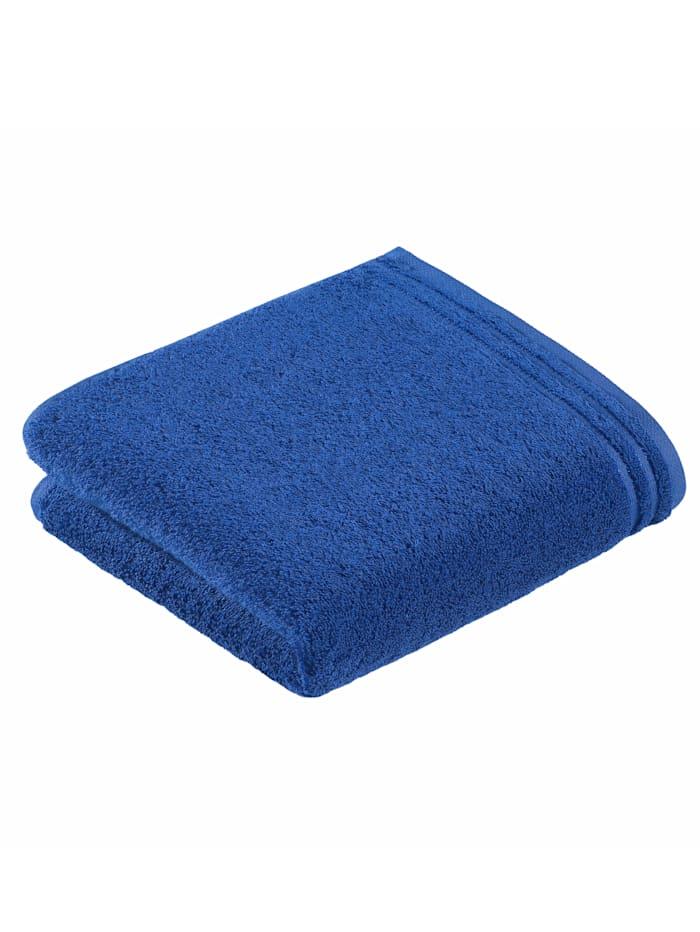 Handdoekenset effen Vossen blauw