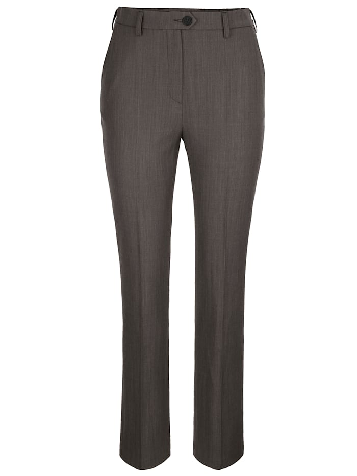Broek Relaxed by Toni Taupe