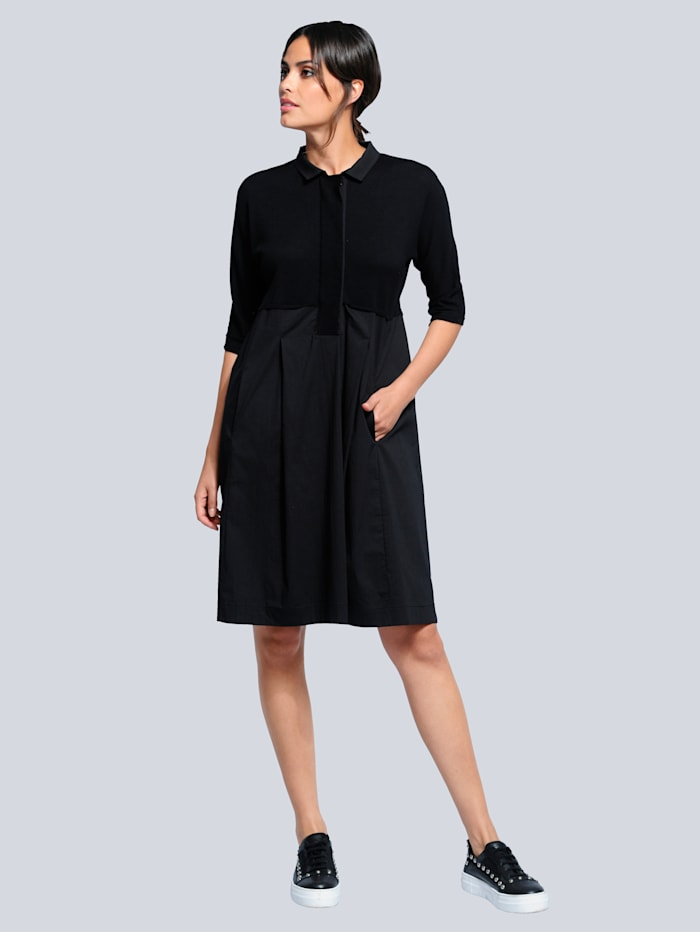 Jurk Alba Moda Zwart