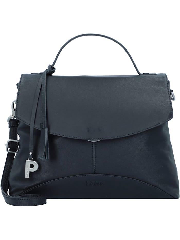 picard - Ease Handtasche Leder 29 cm  schwarz