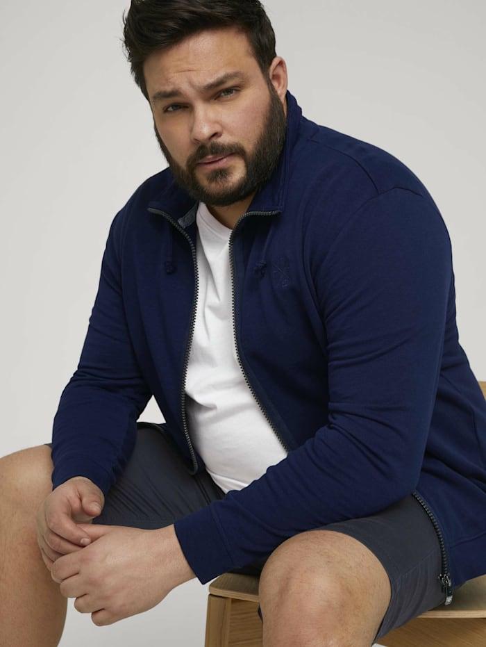 tom tailor men plus - Sweatjacke  Sailor Blue