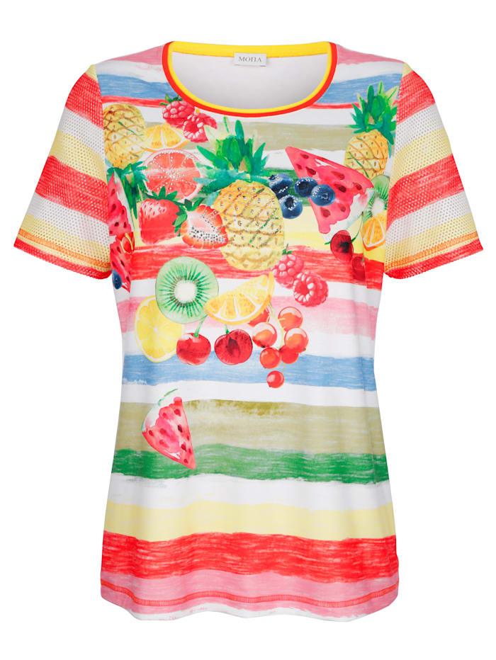Shirt MONA Wit::Multicolor