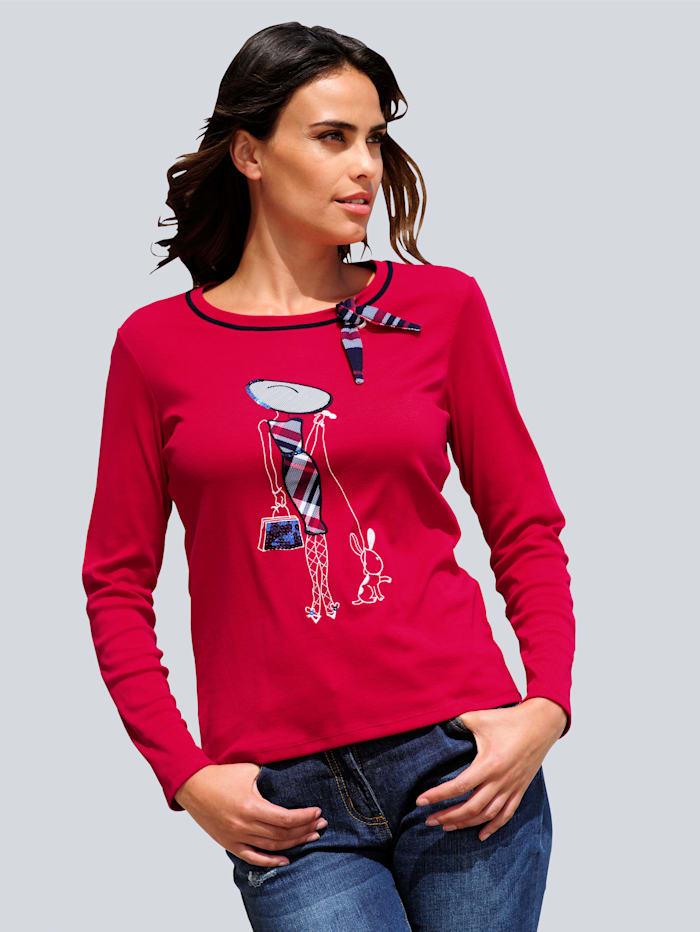 Shirt Alba Moda Rood