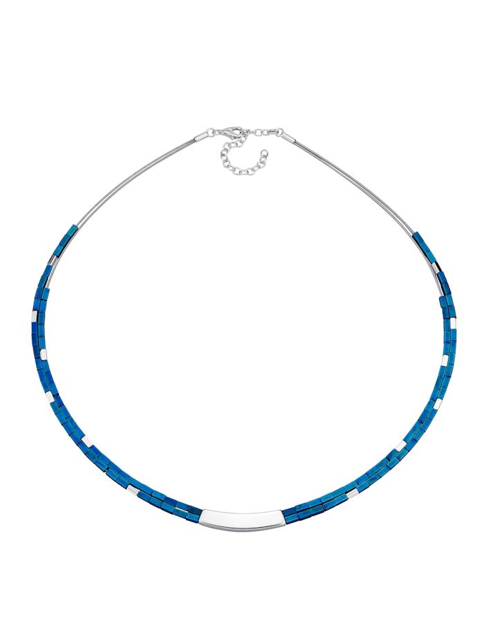 Image of 2rhg. Collier Amara Trend Silberfarben